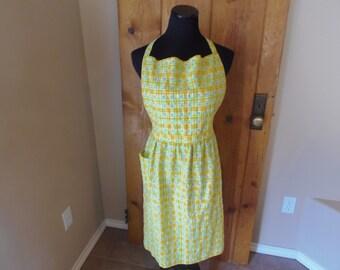 Lemon Yellow Apron