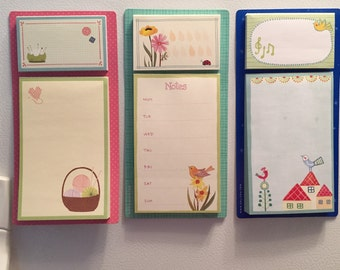 Magnet Note Pad - Note Pad - Refrigerate Note Pad - Kitchen Note Pad - Craft Note Pad - Teacher Gift - Shower Gift - Party Favor
