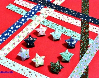 250 strips of DIY Origami Lucky Stars Paper Folding Kit. 26cm x 1.2cm. #C151. (XT Paper Series).