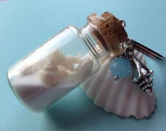 Seashells & Sand Keychain