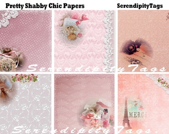 Pretty Shabby Chic Papers (6)