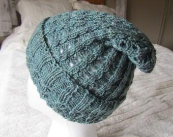 Women's Slouch Hat in Luxurious Malabrigo Yarn