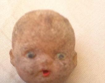 Old Frightening Doll Head