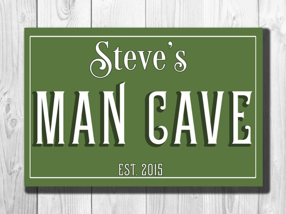 Classic Man Cave Tickets : Custom man cave sign customizable by