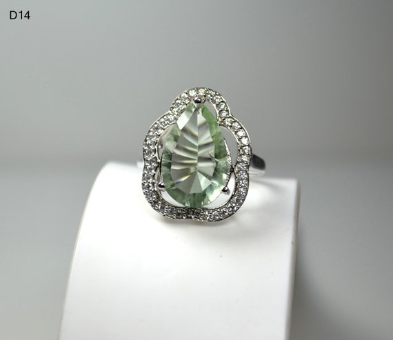 Handmade Solid 925 Sterling Silver Ring 26.75 CARAT By Gems036