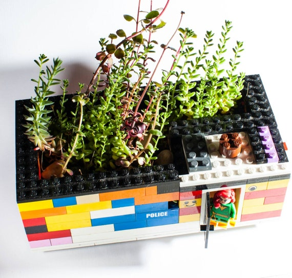 Lego Terrarium Green House With The Lego Hero By