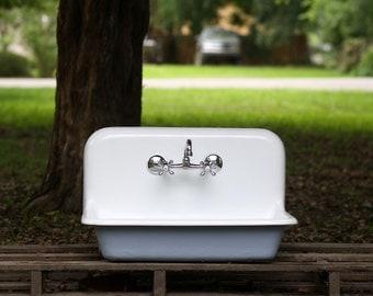 High Back Farmhouse Sink : ... High Bac k 30