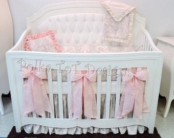 Exquisite Baby Girl Bedding: Sonnet