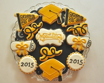 Custom Graduation Cookies