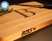 Personalized Cutting Board BOOS Maple Custom Engraved Monogram Wedding Hostess Host Housewarming New Home Birthday BBQ Grill Culinary Gift