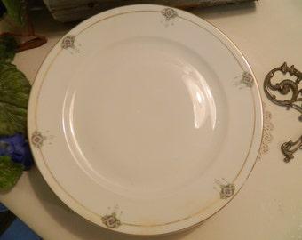 Set of 4 Vintage N S Nagoya Nippon China Oriental Lanterns Dinner Plates