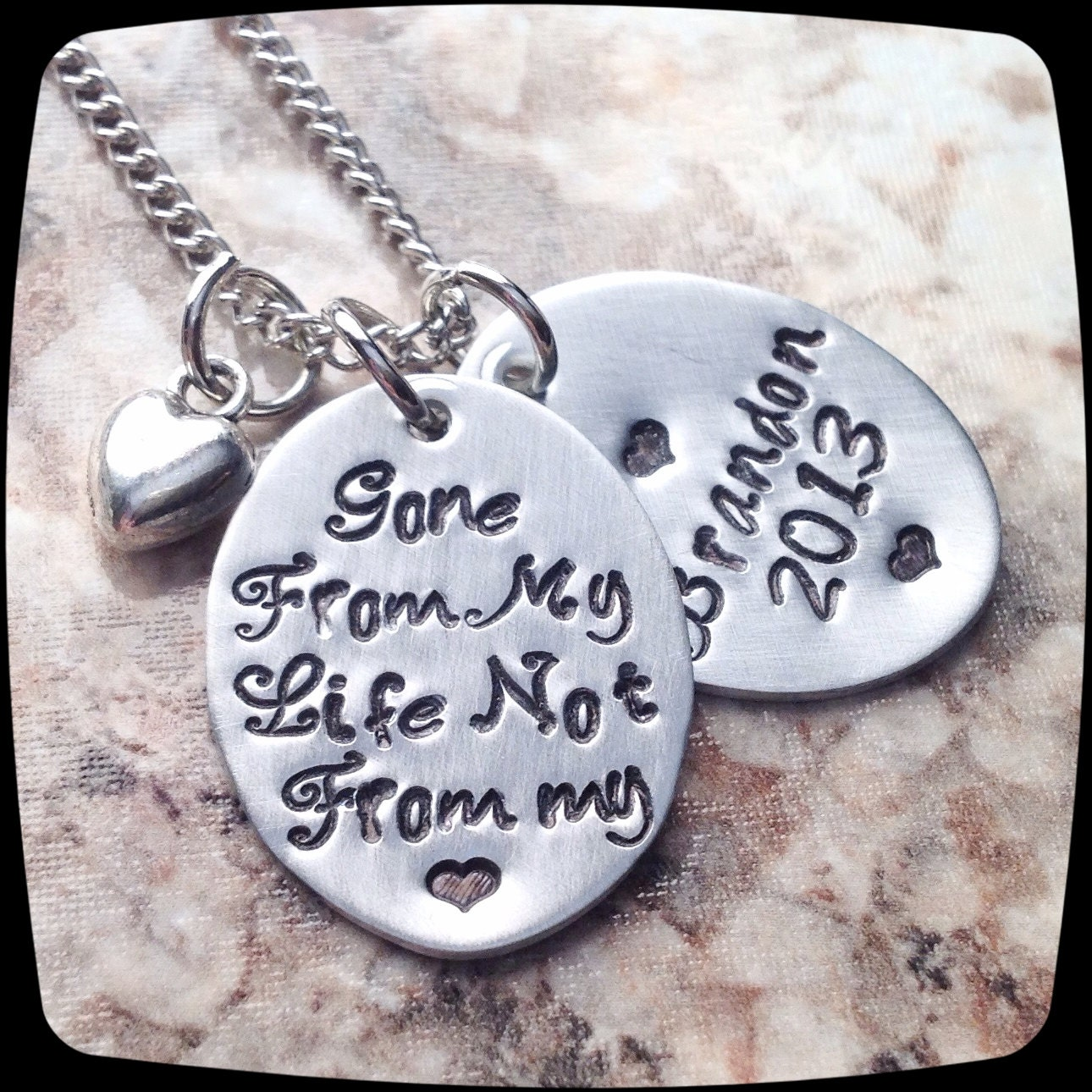 remembrance jewelry memorial necklace always in by