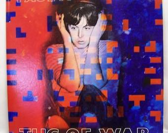 Paul McCartney Tug of War vinyl record LP 1982 near mint condition