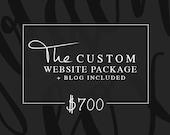 Custom Website and Blog, Responsive Mobile friendly, Website design, Wordpress Website, Wordpress Blog, Blog Design, Custom Blog