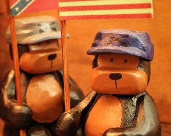 Civil War Soldiers Bubba Bears