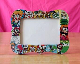 Super Mario Comic Frame