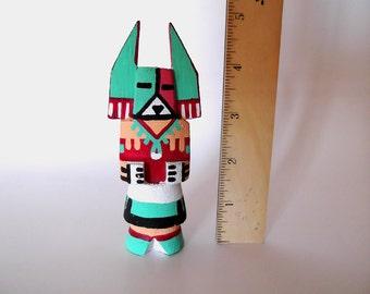 "Vintage Large Hopi Kachina Doll, 5"" Corn Dancer Katsina, Route 66, Native American, Southwestern Collectibles, Tihu dolls, ID 235760781"