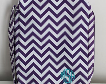 Monogrammed Chevron Bible Cover, Embroidered Bible Cover, Monogrammed Bible Cover, Monogram Bible Cover, Monogram Bible Case