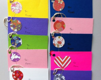 Handmade Gift Tags (7 assorted packages available)