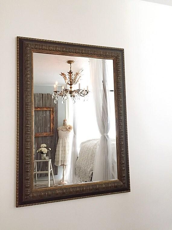 Large wall mirror bathroom mirror baroque leaning decorative for Baroque bathroom mirror