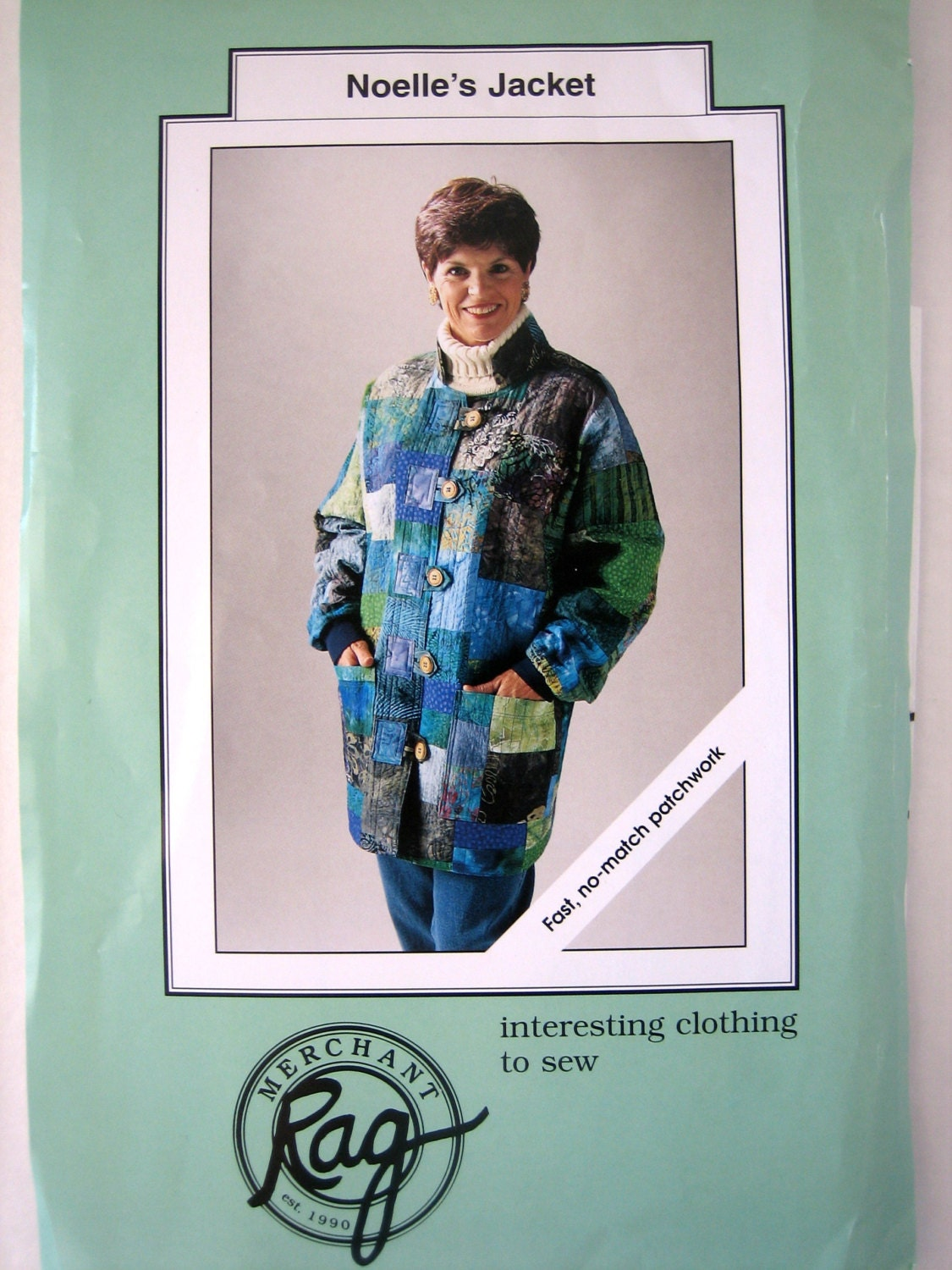Quilted Jacket Sewing Pattern By Rag Merchant Noelle S
