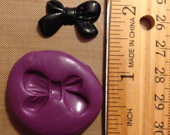 Bow Mold,  Children, Hair Bow, Cabochon, Resin Mold, Crafts, Supplies, Candy Mold, Polymer Clay Mold,Silicone, Embellishments, Jewelry