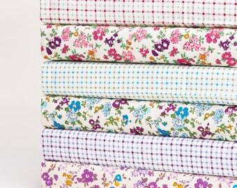 Fabric Fat Quarter Bundle Sally Floral