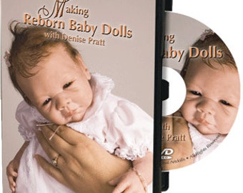 Making Reborn Baby Dolls with Denise Pratt On DVD 3347