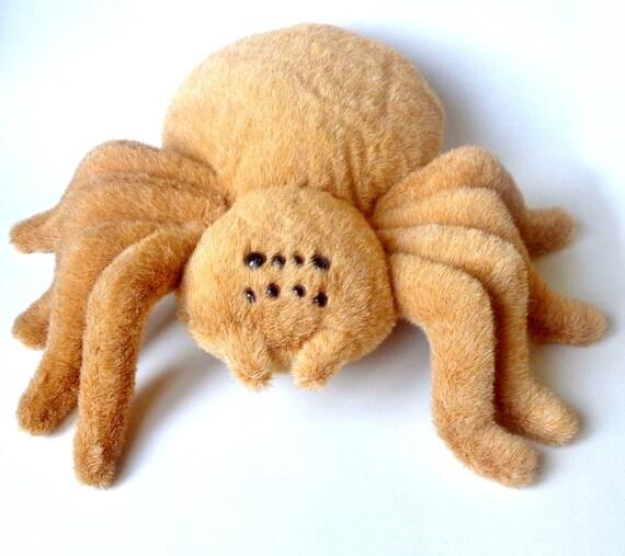 Plush Spider Dog Toy