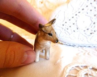 Coyote Figurine Totem