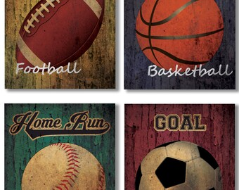 Kids, Teen Sports Themed Bedroom Wall Decor