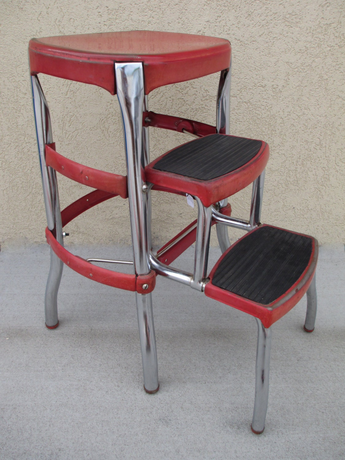 Step Stool Cosco Step Stool Vintage Step Stool Mid Century