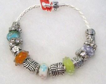 222 - Pastel Beaded Bracelet