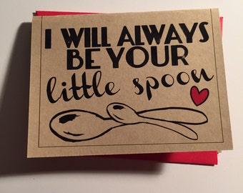 Little Spoon Card