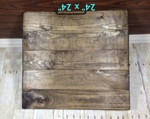 "Reclaimed Wood Blank Canvas/ 24"" x 24""/ Make Your Own Sign/ Blank Pallet Wood Sign/ Blank Wood Sign/ Distressed Blank Wood Sign"
