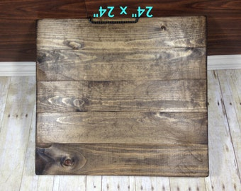 """Reclaimed Wood Blank Canvas/ 24"""" x 24""""/ Make Your Own Sign/ Blank Pallet Wood Sign/ Blank Wood Sign/ Distressed Blank Wood Sign"""