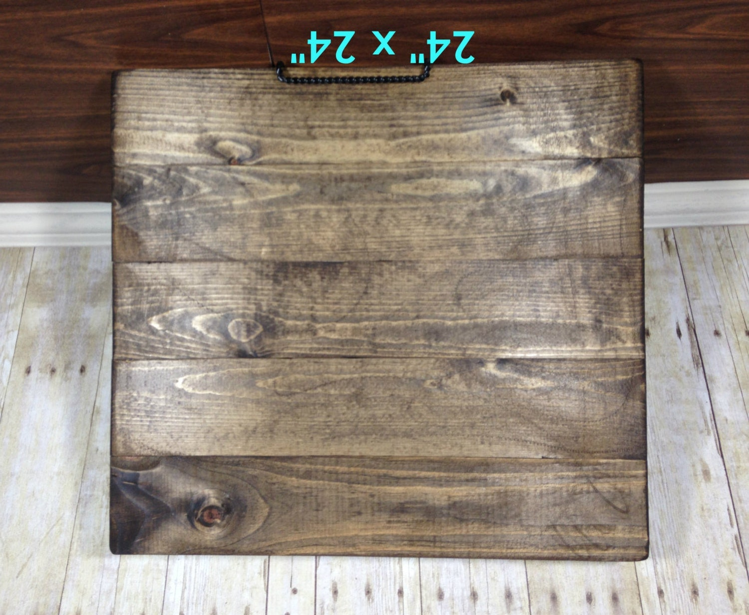 Reclaimed Wood Blank Canvas 24 X 24 Make Your