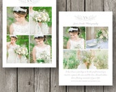 Photography Thank You Card - Wedding Thank You Card - Thank You Template for Photographers - TY05