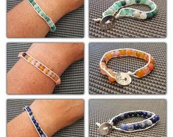 Bracelet gem stone.