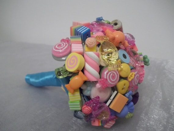 Candy Bouquet. Flower Girl Bouquet. Candy Bar Decoration