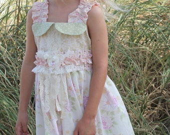 ReadyTo Ship! Girls/Toddler  Adorable Shabby Chic,vintage, toddler,girls dress sizes12m,2t,3t,4t,5t,6t,7t,8