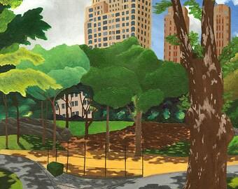 15 Central Park West - fine art paper