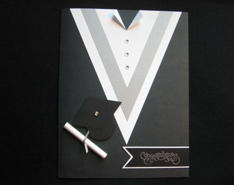 Graduation Gown Card