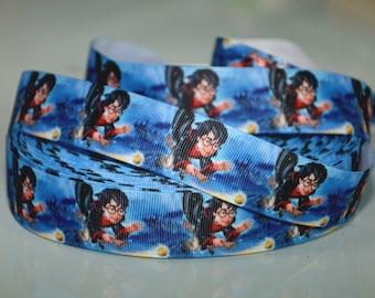 Inspired Harry Potter Grosgrain  Printed ribbon