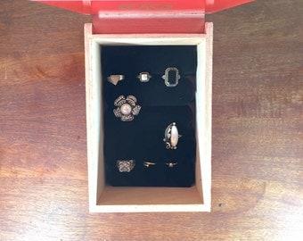 Wooden Cigar Jewelry Box