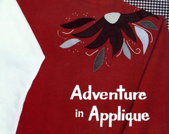 Adventure in Applique by Mary Mulari   Embellished Clothing   Wearable Art   Vintage Craft Book 1980s