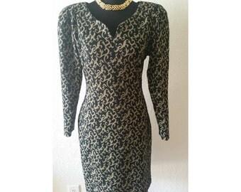 1980s Vintage Dress