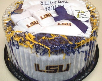 LSU Tigers Baby Clothing Gift Set