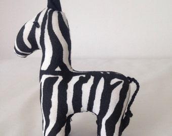 Zebra1115- (Medium size) made by Ugandan Disabled Women