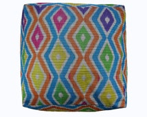 24 x 24 x 13 Square Floor Cushion Cover, Oversized Pillow Case, Ottoman